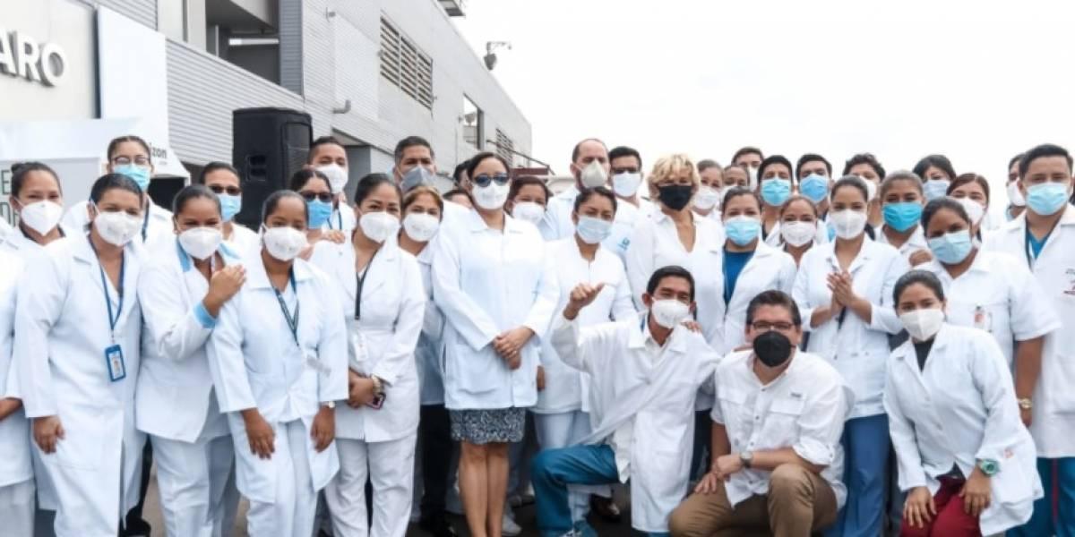 En Guayaquil cierra centro de cuidados intermedios para pacientes COVID-19