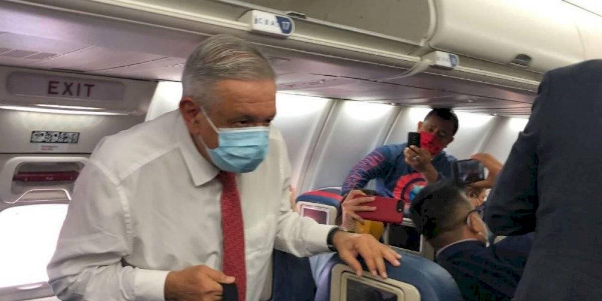 AMLO llega a Washington para reunirse con Donald Trump