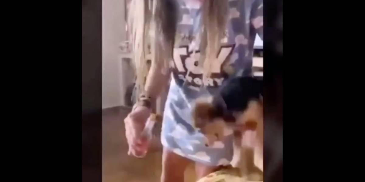 Aberrante: joven rocía salsa picante a los ojos de su perro y sube el video en Instagram