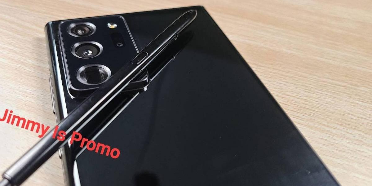 Samsung Galaxy Note 20 Ultra se filtra en fotos reales del modelo final