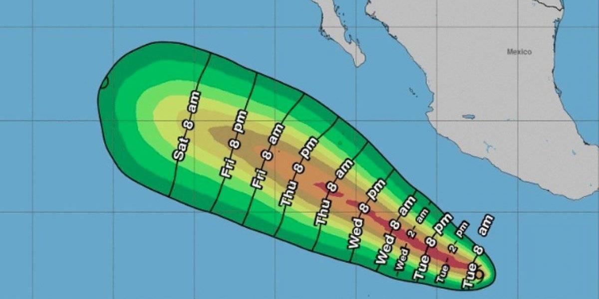 Tormenta tropical Cristina se forma en el Pacífico