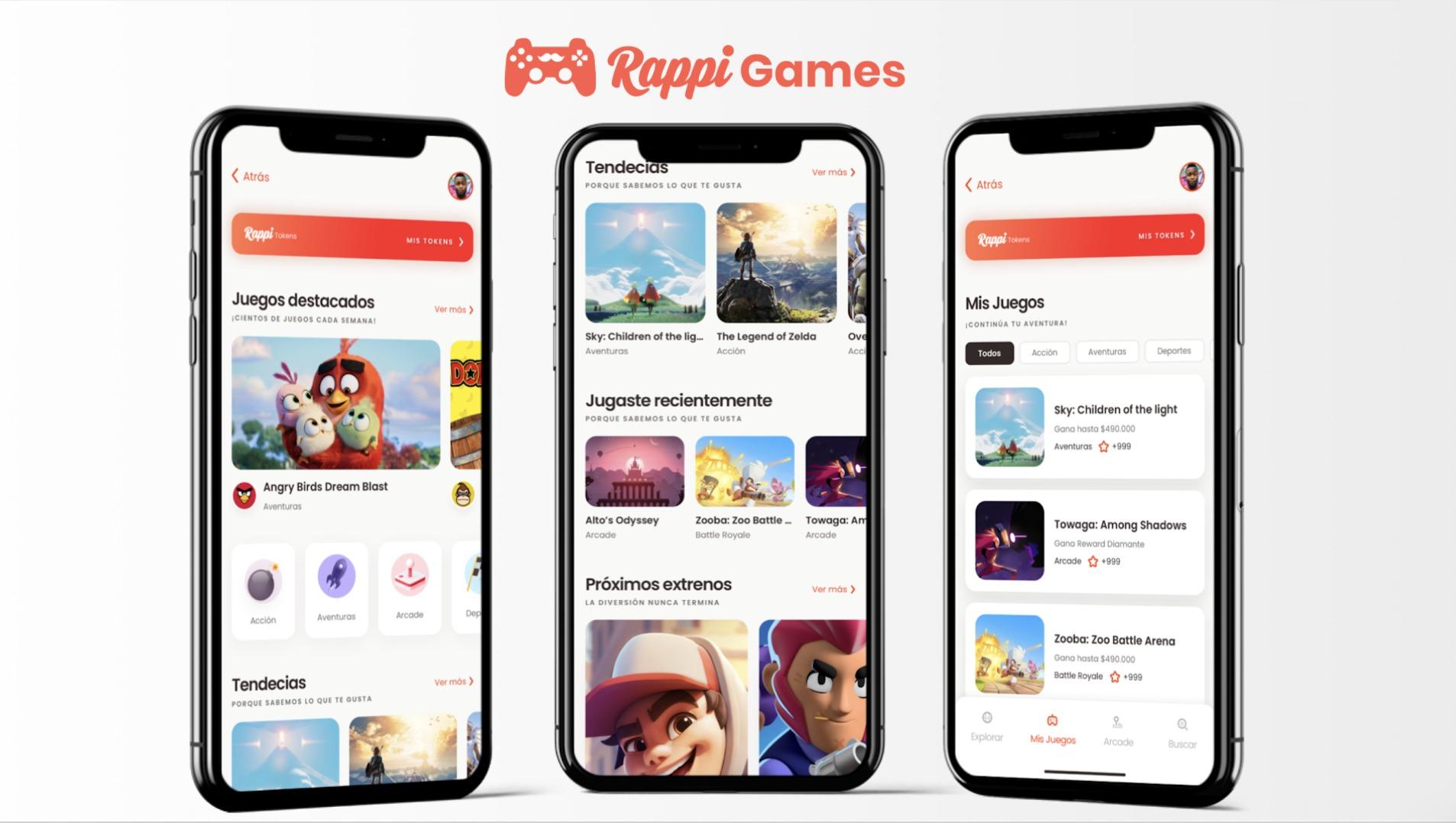 Rappi anuncia plataforma de videojuegos, eventos en vivo ...