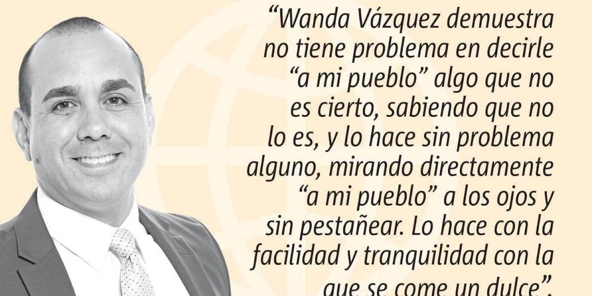 Opinión de Alex Delgado: Difícil creerle a Wanda Vázquez