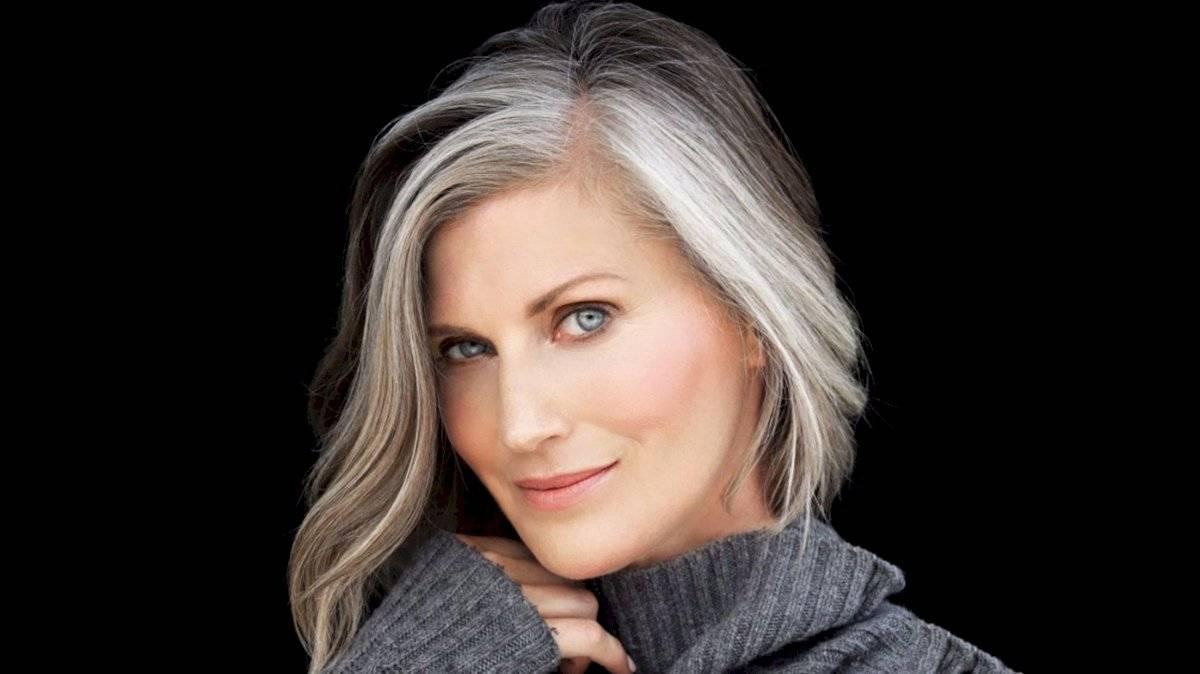 Más notable peinados con canas Imagen de cortes de pelo estilo - Cortes de cabello para lucir canas hermosas | Nueva Mujer