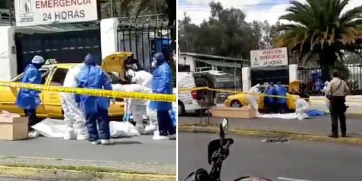 Quito: Persona con sospecha de COVID-19 murió en un taxi frente al IESS del Batán