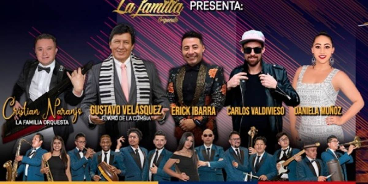 Con La Cumbia en las Venas desde Ecuador: concierto virtual