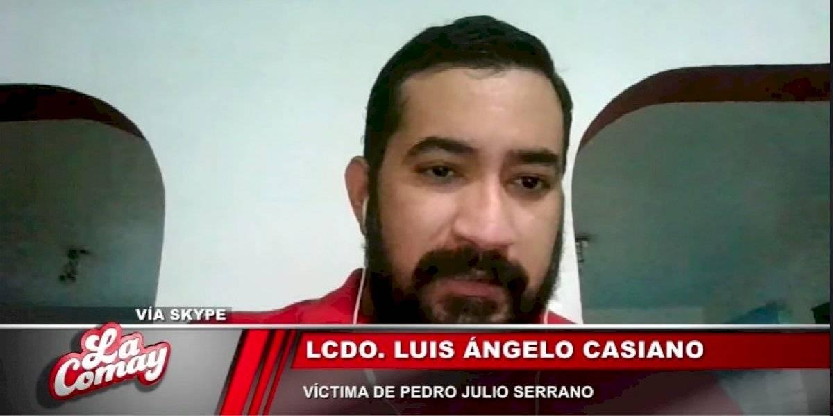Abogado narra agresión sexual que sufrió por parte de Pedro Julio Serrano