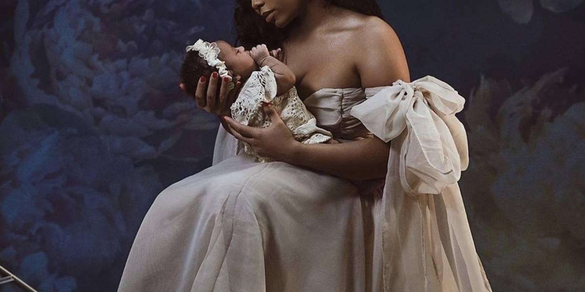 Usain Bolt presentó a su hija con un curioso nombre