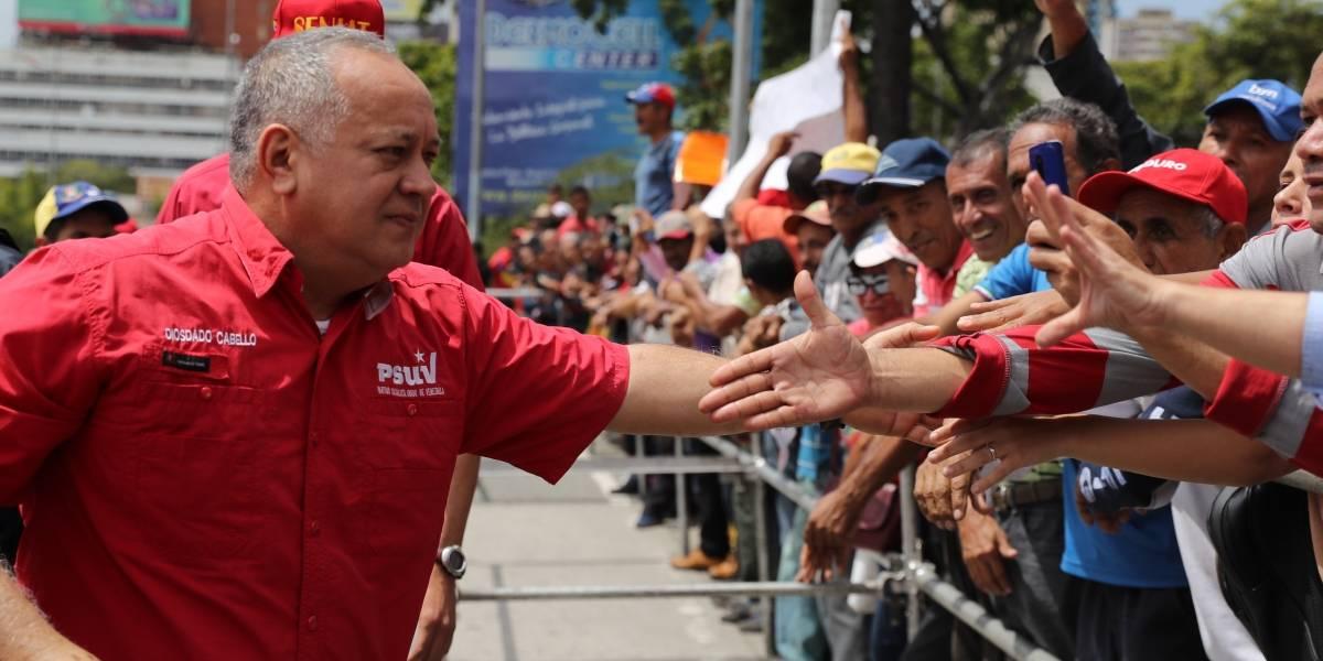 Diosdado Cabello, titular de la Asamblea Nacional Constituyente de Venezuela, tiene COVID-19