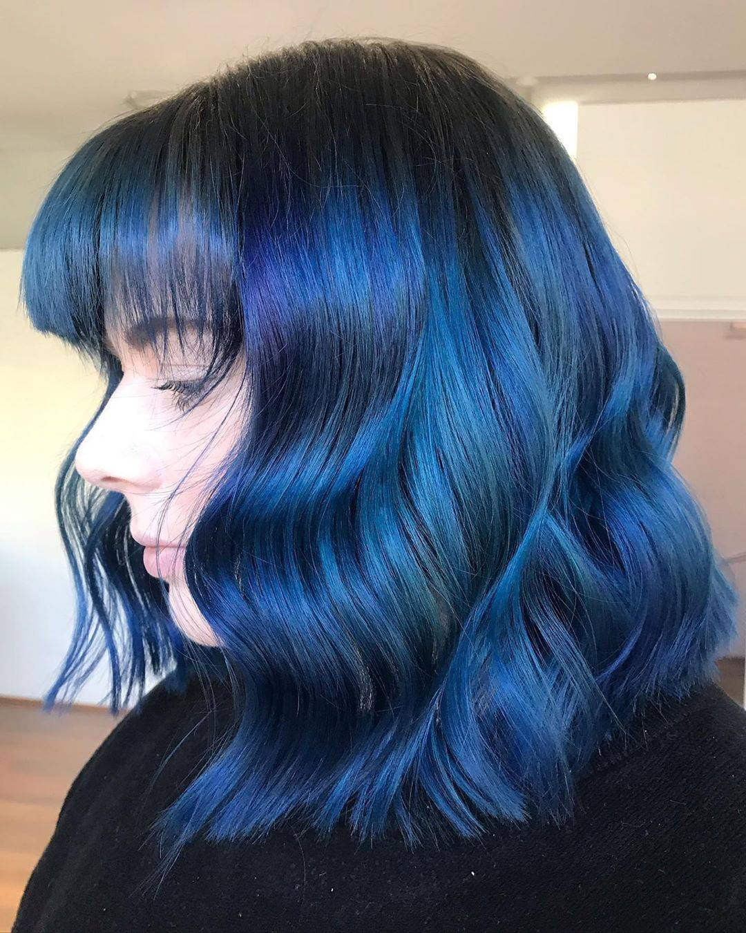 Tintes azules