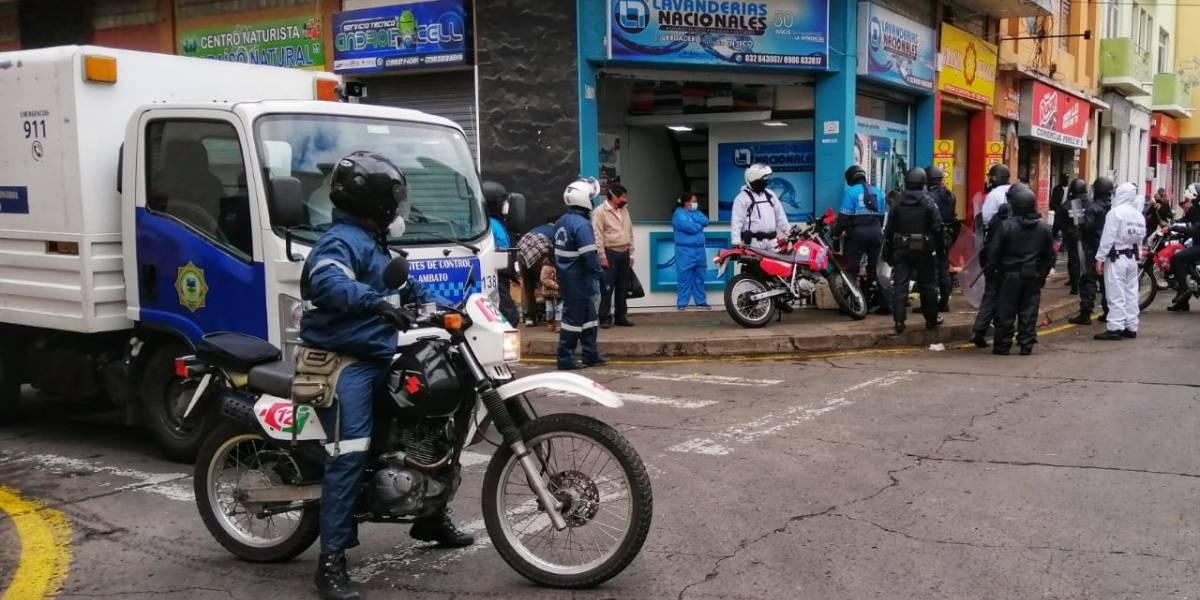 """Cuatro cantones de Tungurahua volvieron a semáforo rojo por culpa de la """"irresponsabilidad"""""""