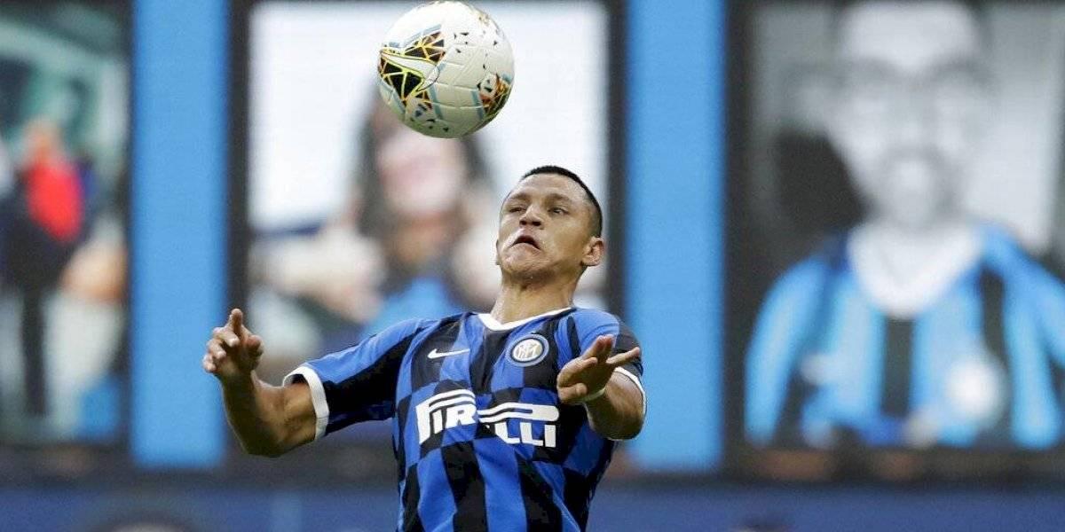 Alexis no pudo evitar el triste empate del Inter con el Hellas Verona