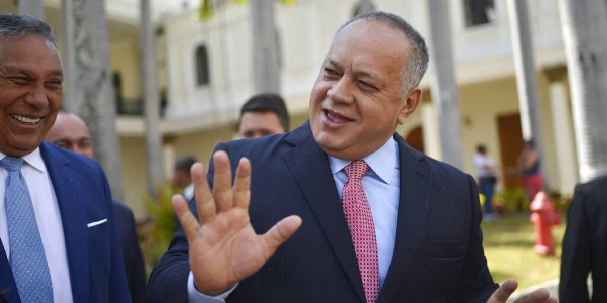 Otro más: Diosdado Cabello anuncia que dio positivo en test de covid-19