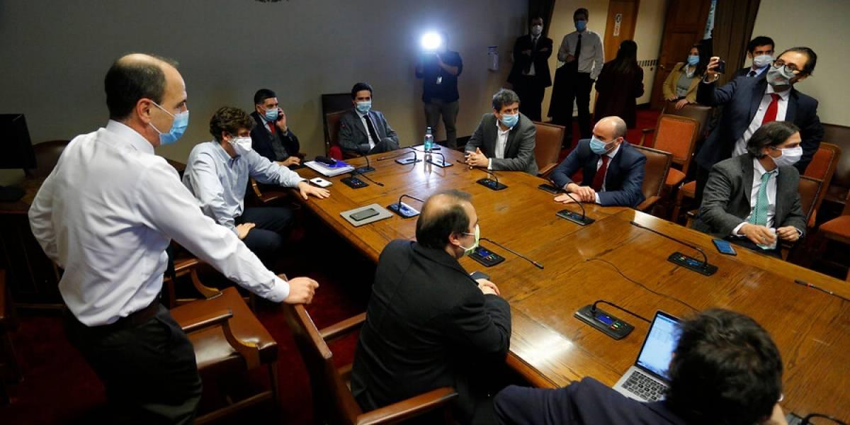 Diego Schalper y otros 4 diputados renuncian a la bancada de RN tras votación de retiros de fondos AFP
