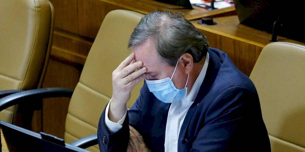 """Cristhian Moreira, el diputado que se desmayó durante el debate por el retiro de fondos de AFP: """"No fui presionado de ninguna manera"""""""