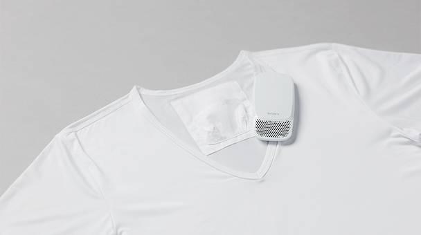 Camiseta especial para el Aire acondicionado de bolsillo de Sony