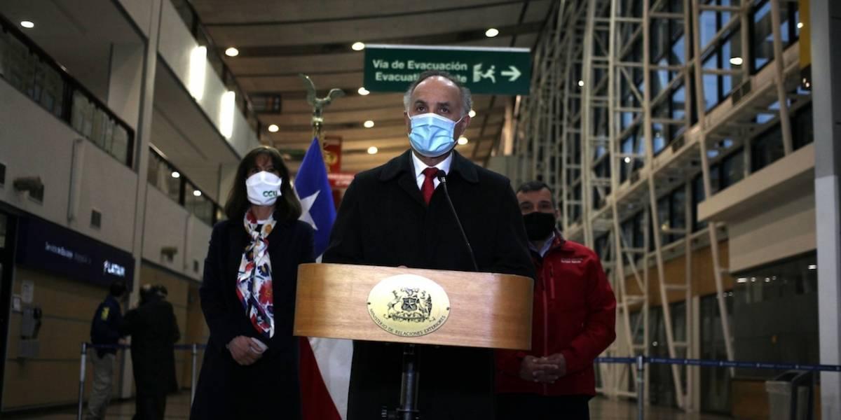 Listo un nuevo operativo para repatriar a ciudadanos extranjeros y traer de vuelta a chilenos
