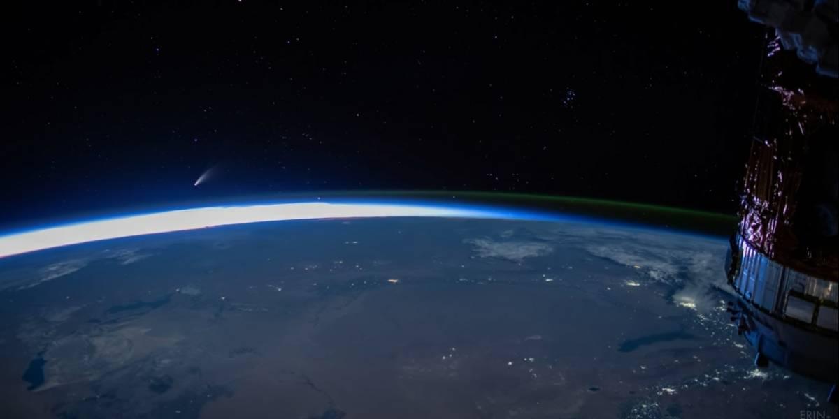 Espacio: NASA muestra imponente video del cometa Neowise, grabado desde la Estación Espacial Internacional