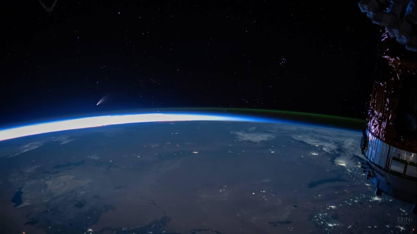 Cometa ISS