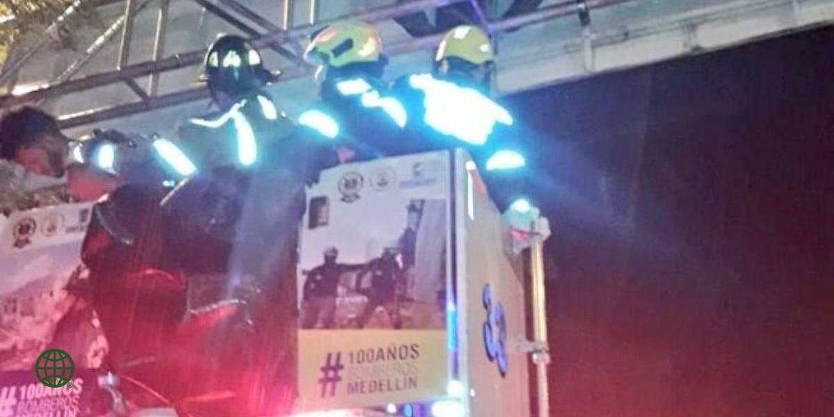 Bomberos evitaron intento de suicidio en Medellín