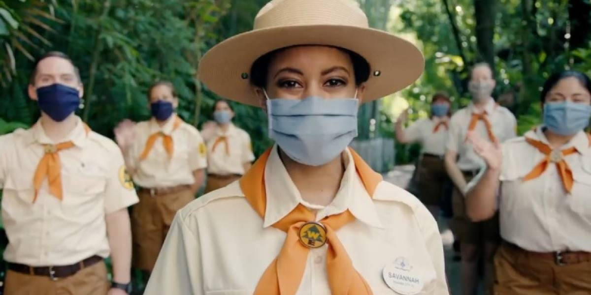 "Coronavirus y Disney World, el ""aterrador"" video de la reapertura de los parques"