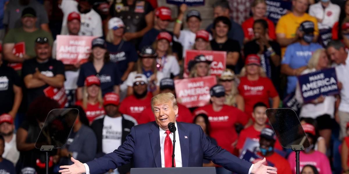 Após sediar comício de Trump, cidade de Oklahoma vira foco do covid-19 nos EUA