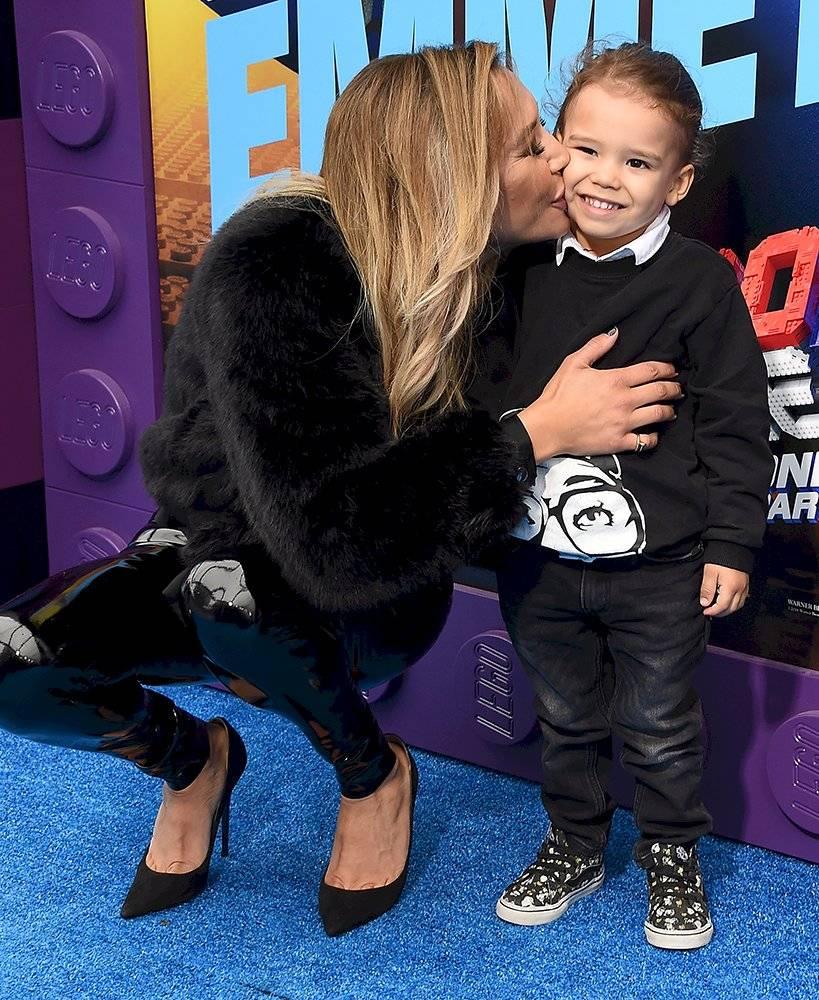 Naya Rivera y su hijo Josey Hollis