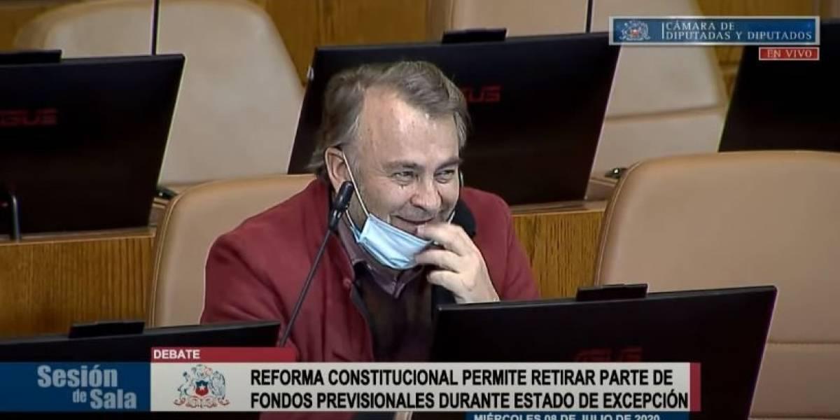 En pleno debate por el retiro de fondos AFP: Pepe Auth pidió la palabra sólo para hacer una broma