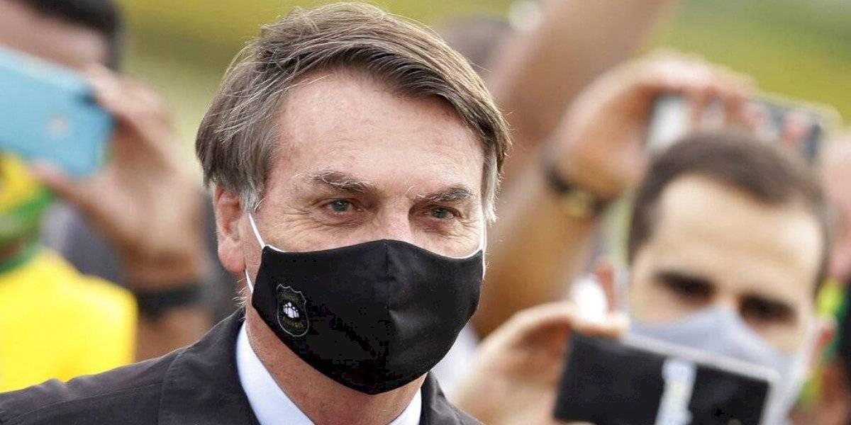Bolsonaro está por sobre las polémicas: alcanza niveles inéditos de aprobación
