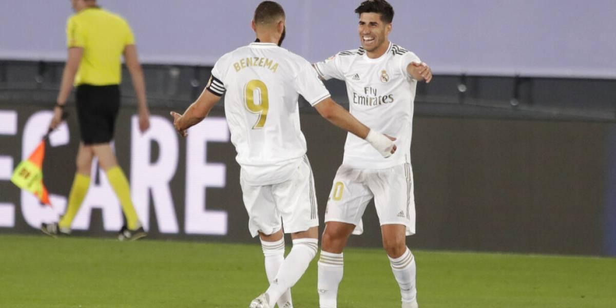 Se le pone cuesta arriba al Barça: el Real Madrid da otro paso al título al vencer 2-0 al Alavés