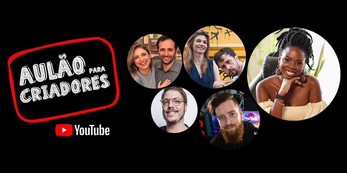YouTube apresenta primeiro aulão gratuito para novos criadores