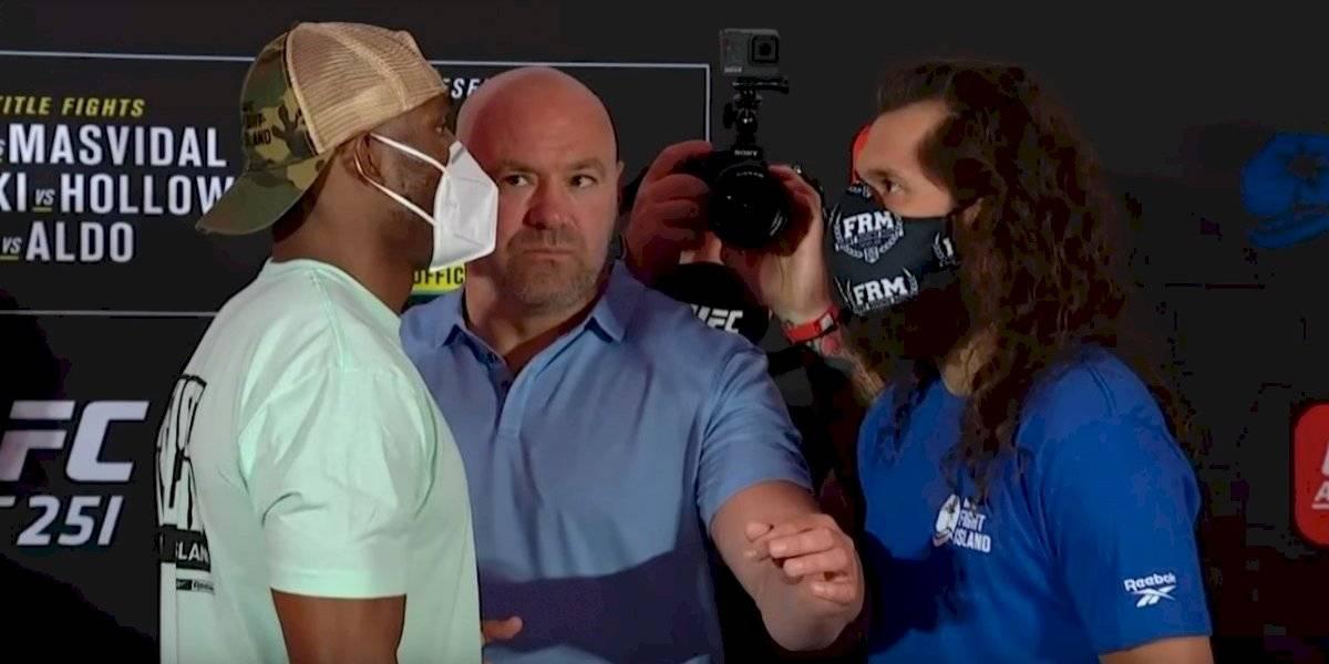 UFC 251 Fight Island: el nigeriano Usman defenderá su título este sábado ante el estadounidense Jorge Masvidal
