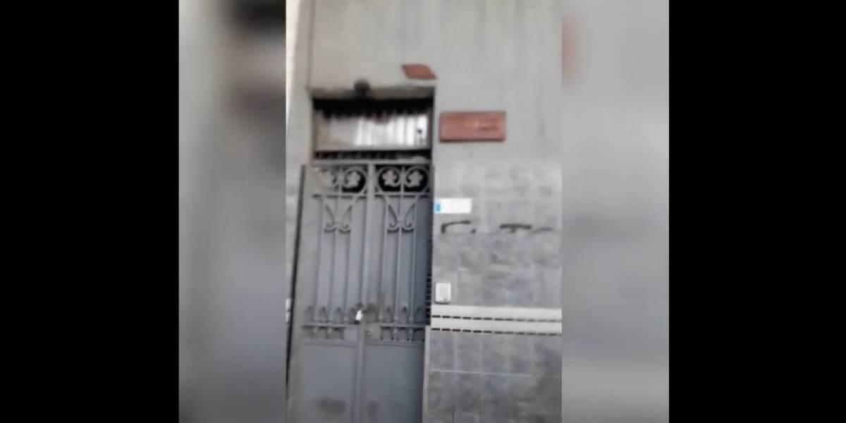 """Movilh acusa agresión por parte de una activista: fue al frontis de su sede y los trató de """"pedófilos y de transmitir enfermedades sexuales"""""""