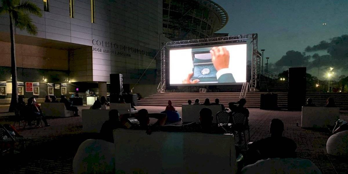Cine y gastronomía al aire libre en el Coliseo de Puerto Rico