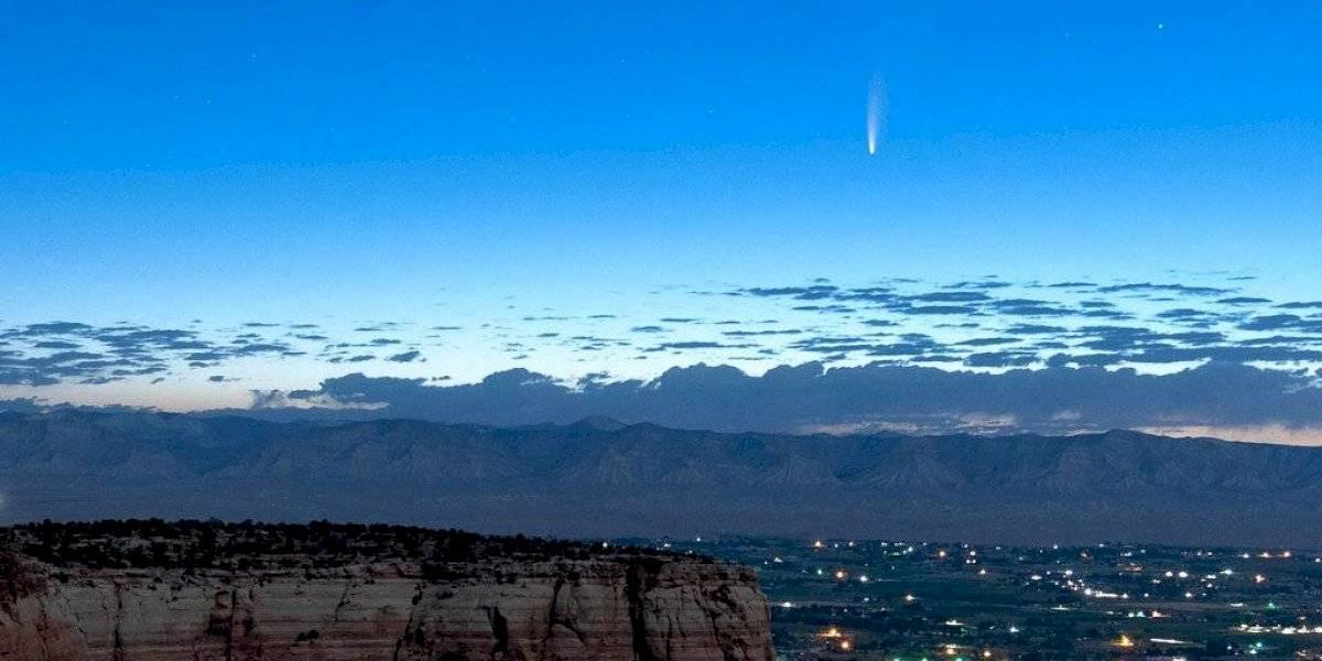 Cometa Neowise ofrece espectáculo al pasar cerca de la Tierra