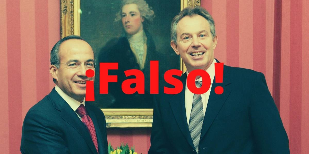 Resurge falso mensaje de Tony Blair contra AMLO en WhatsApp