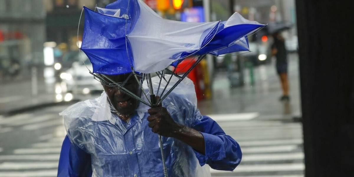 Tormenta tropical Fay provoca inundaciones costeras en Nueva Jersey