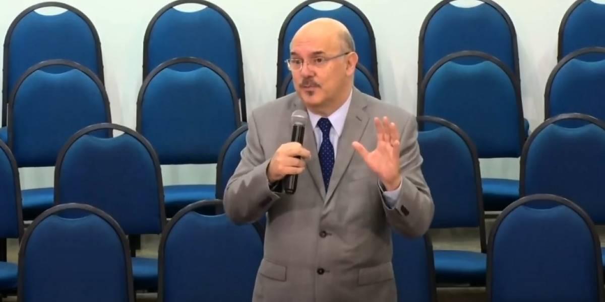 Pastor evangélico Milton Ribeiro é indicado por Bolsonaro ao MEC