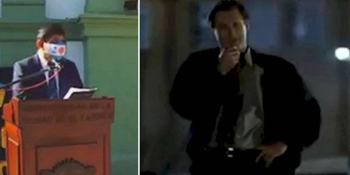 """Intendente argentino copia el discurso de la película """"Día de la Independencia"""": video imperdible"""