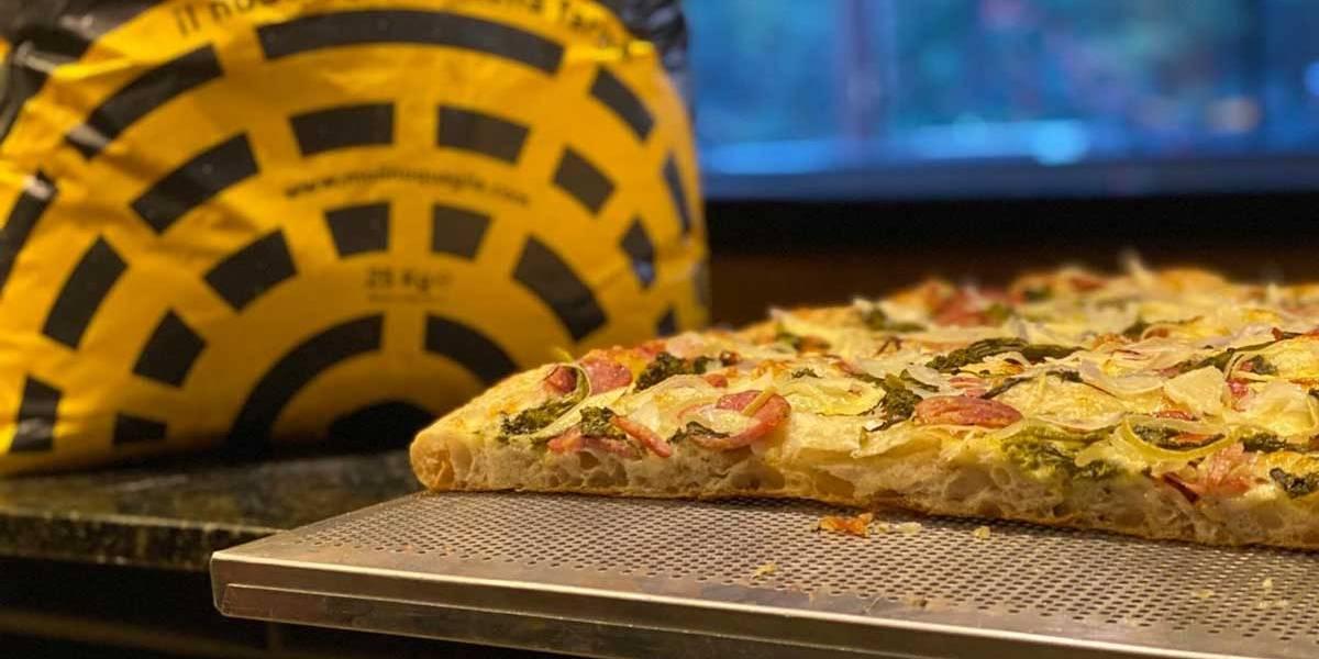Aprenda a fazer a pizza romana em live gratuita nesta sexta