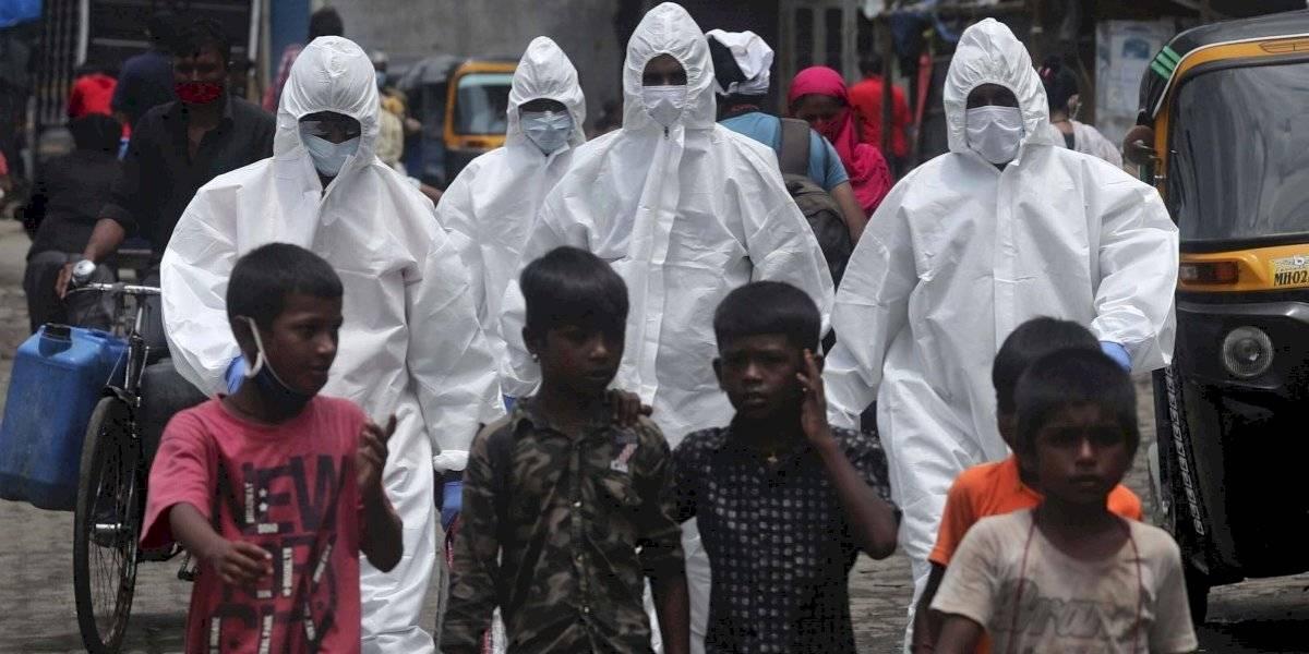 Casos de COVID-19 aumentan considerablemente en África e India