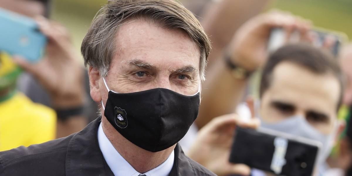 Bolsonaro anuncia que arrojó negativo en prueba de COVID-19