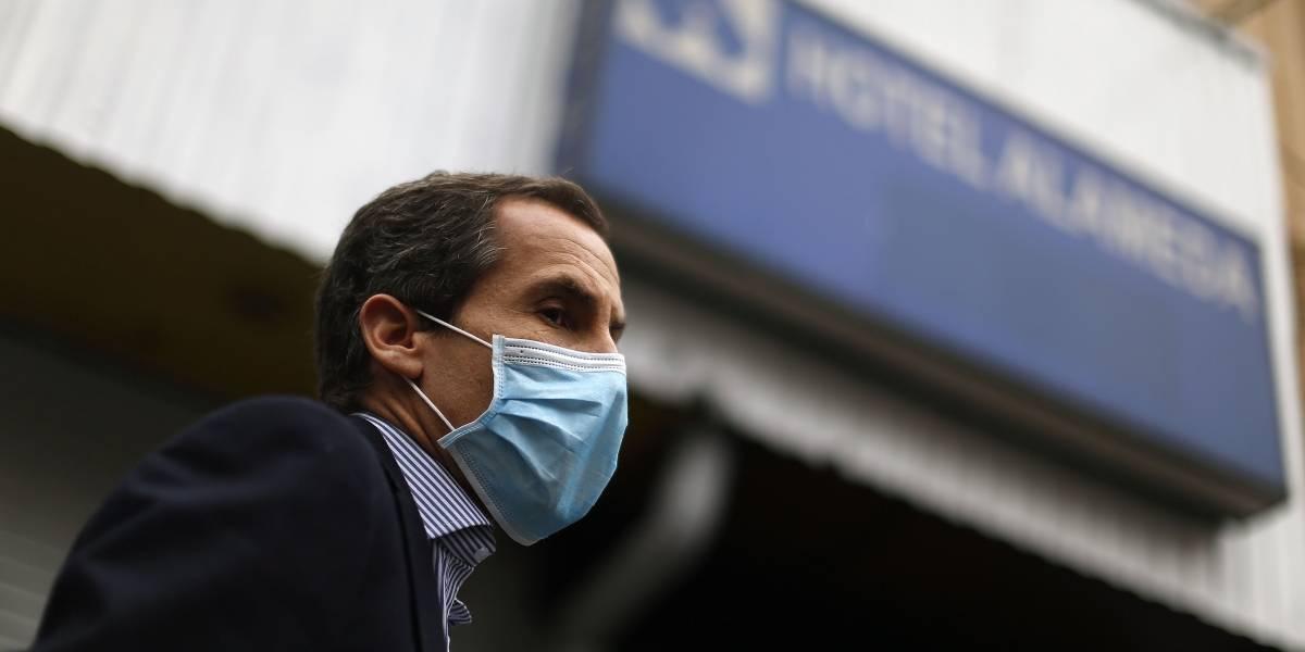 Alessandri plantea aplicar toque de queda desde las 15:00 el sábado y desde las 18:00 de lunes a viernes