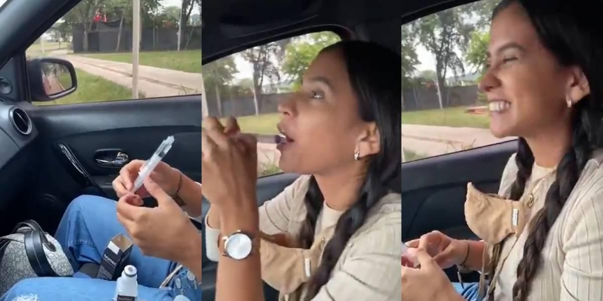Concejala recibe críticas por un video en el que toma Ivermectina y se ríe