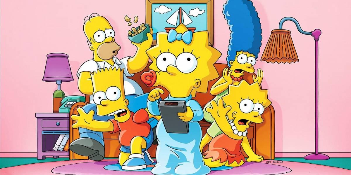 Los Simpson: Elizabeth Taylor prestó su voz en la serie y nadie se dio cuenta