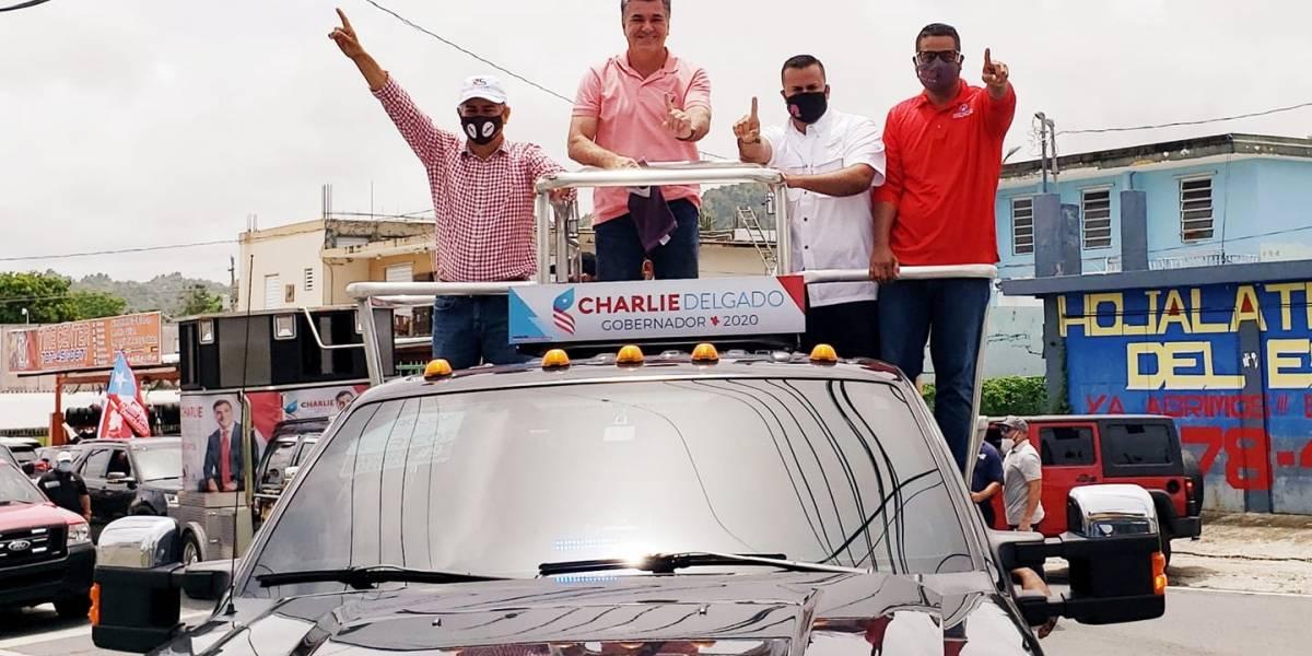 Aparece Jesús Manuel Ortiz en caravana junto a Charlie Delgado Altieri