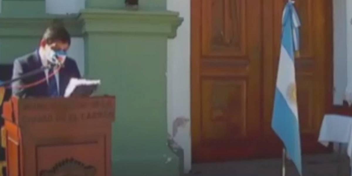 """Intendente argentino dio el mismo discurso que está en la película """"El día de la Independencia"""""""