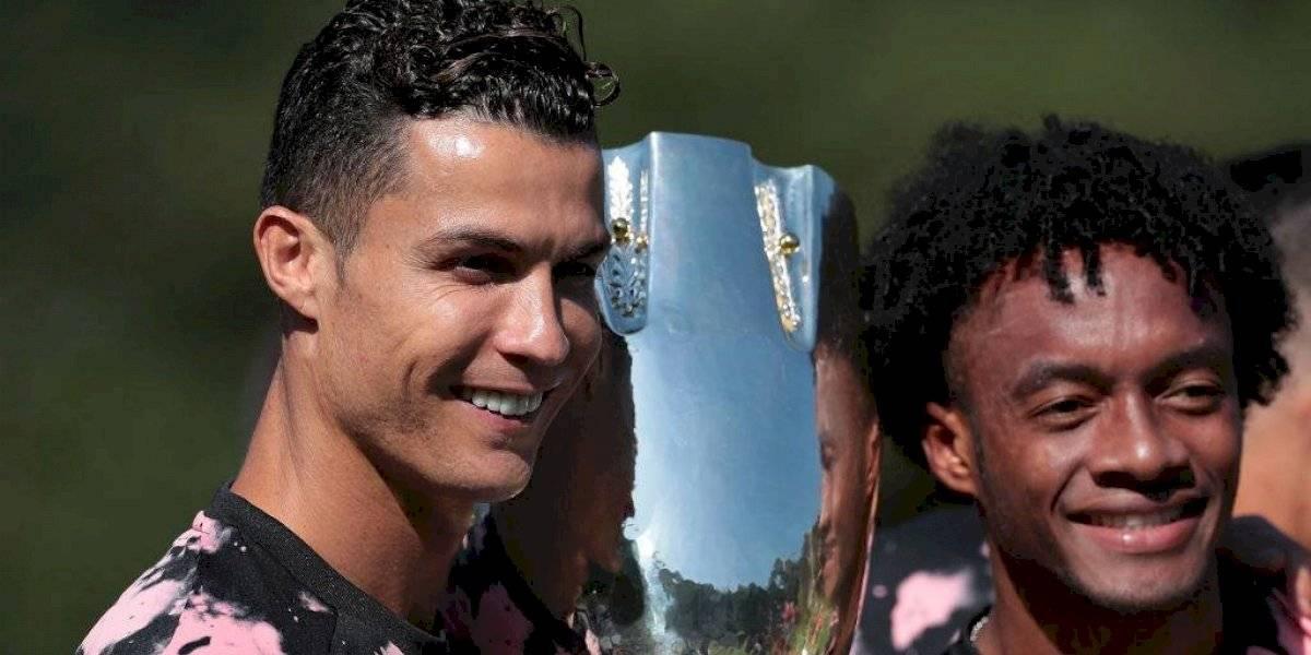 El encontronazo entre Cuadrado y Cristiano Ronaldo que no se vio en televisión