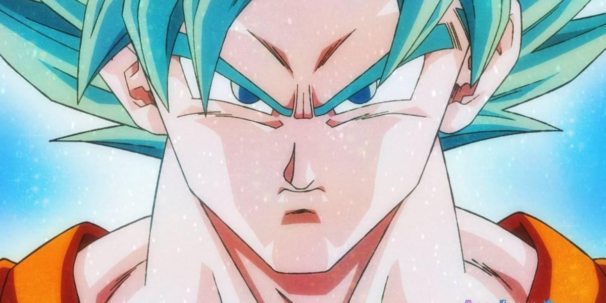 """Fanático de Gokú lo dibujó en su transformación de super sayayin azul, pero al estilo """"Dragon Ball Z"""""""