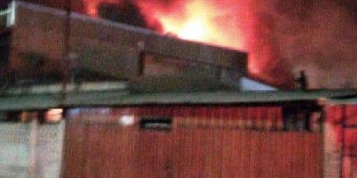 Balancera e incendio en San Felipe: tres personas resultaron heridas y una de ellas falleció